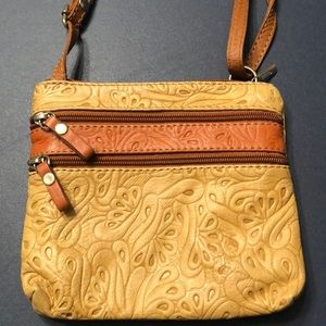 Italian made leather purse